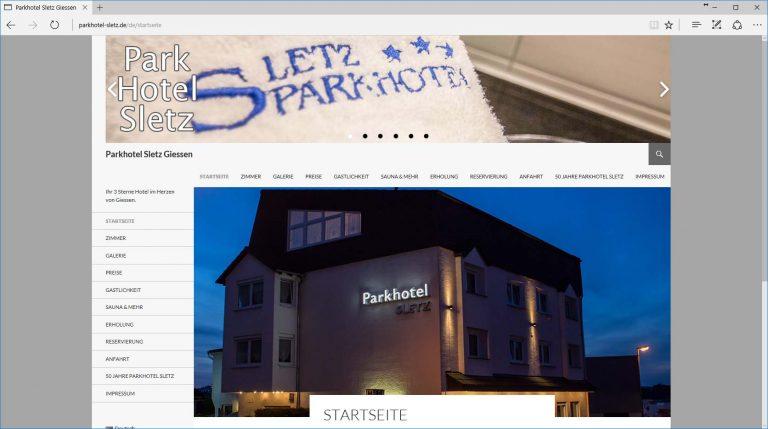 Parkhotel Sletz