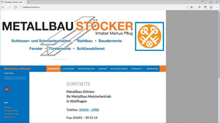 Metallbau Stoecker