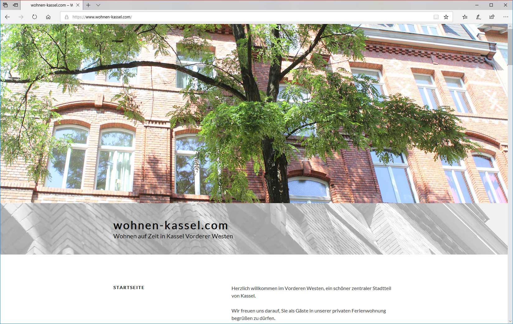 Wohnen auf Zeit in Kassel Vorderer Westen Susanne Welscher